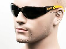 Lot of 3 Pair Dewalt Protector Smoke Safety Glasses Sunglasses Z87.1