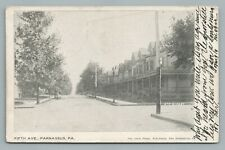 Fifth Ave PARNASSUS Pennsylvania UDB Antique New Kensington PA Westmoreland Co