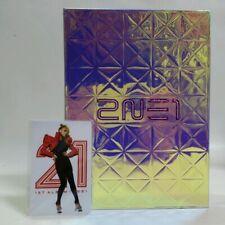 CD 2NE1 The First Album with Photocard Korea Press