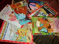 Educational Beginner Readers Lot 6  Level 2  Scholastic, Step Into Reading   K10