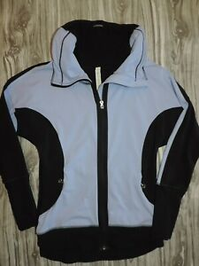 Lululemon Athletica Full Zip Jacket Purple Black Sz 4