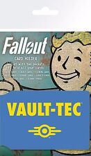 Titular de la tarjeta de bóveda Tec Fallout 4 Marca Nuevo Oficial Mercancía Juego Niño PIP