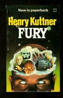 Fury by Kuttner, Henry Paperback Book The Fast Free Shipping
