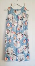 Ladies Laura Ashley Floral Print Dress Size UK 12