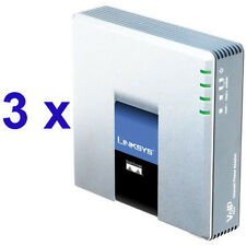 3 x Linksys Pap2T + 6 Account SIP/VoIP + Pannello di Controllo