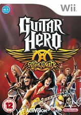 Nintendo Wii Game Guitar Hero Aerosmith Hits Collection NEW