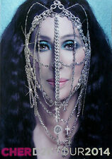 CHER * DRESSED TO KILL / D2K TOUR PROGRAMME * BN! * CLOSER TO THE TRUTH