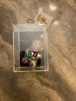 Christmas Ornament Snowman Hand Crafted Glass Designers Studio Sterling Inc