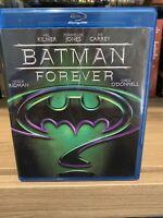 Batman Forever Blu-ray *Free Shipping* Val Kilmer Tommy Lee Jones Jim Carrey