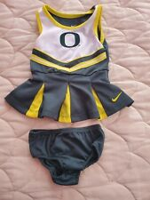Nike Oregon Ducks Cheerleader Outfit Size 12 Months