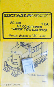 Details West HO #158 Air Conditioner -- Vapor Type (Light Cast)