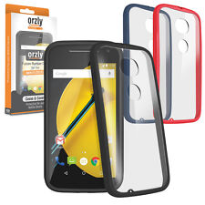 NEW Motorola Moto E 2015 (2nd Gen) Fusion Bumper Case Cover by ORZLY