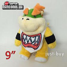 "Super Mario 3D Land Plush Bowser Jr. Soft Toy Stuffed Animal Doll Teddy 9"""