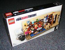 LEGO IDEAS THE BIG BANG THEORY 21302 BRAND NEW SEALED