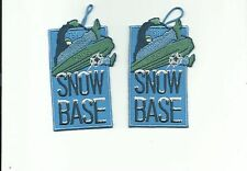 SCOUT BSA 2008 TOMAHAWK RESERVATION SNOW BASE PARTICIPANT & CAMPMASTER PATCH NSC