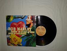 """Bob Marley – Fallin' In & Out Of Love - Disco Mix 12"""" Vinile ITALIA 1997 House"""
