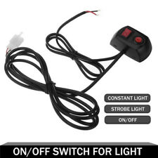 LED Bulbs Strobe Light On/Off Switch for Car Truck Emergency Flash Warming Lamp