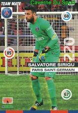 154 SALVATORE SIRIGU ITALIA PSG PARIS.SG CARD ADRENALYN 2016 PANINI D