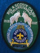 BIG -4 -BOY SCOUT CAMP -  75th ANNIVERSARY  Northern Lights Council  - see photo