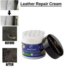 Leather Vinyl Repair Filler Compound Cream Leather Restoration Cracks Sofa Hole'