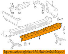 TOYOTA OEM 99-02 4Runner Rear Bumper-Face Bar 5210535915