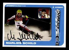 Marlies Schild Autogrammkarte Original Signiert Ski Alpine + A 162535