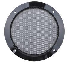 "2x 3"" Inch Speaker Grill 6# Black Rim for Car Audio Subwoofer Bass Loudspeaker"