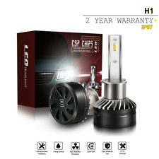 2PCS H1 LED Headlight Bulb Kit 60W 12000LM High Beam Xenon 6000K White X