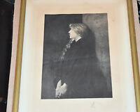 LEFEBVRE 1834 1912 VIOLETTA  Gravure Société Française Amis des Arts