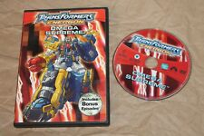USED Transformers Energon - Omega Supreme DVD Free Shipping!!