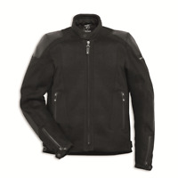 New Spidi Ducati Road Master Fabric Jacket Men's Large Black #981035505