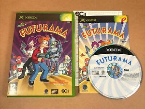 Futurama Original Xbox RARE PAL - COMPLETE with manual