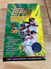 2001 Topps Series 2 Baseball 36-Pack Retail Box Factory Sealed Ichiro Suzuki RC