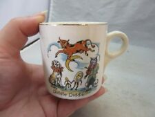 1930's Hey Diddle Diddle Nursery rhyme child's cup