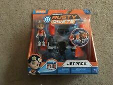 Rusty Rivets Nickelodeon Jet Pack Build Me System Toy NIP!