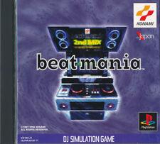 Beatmania  PS1 Playstation 1 Japan Import  Good/Mint   US SELLER