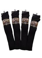 3, 6, 9 and 12 Pack Mens Lambs Wool Blend LYCRA® Traditional LONG HOSE Socks