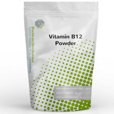 VITAMIN B12 POWDER 100G - RED BLOOD CELLS, FATIGUE, IRON DEFICIENCY