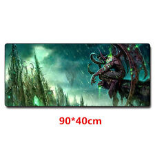 New World of Warcraft WOW Game Mouse Pad Mat Laptop Gaming Mousepad 900*400mm