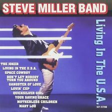 Steve Miller Band Living In The U.S.A. CD NEW SEALED The Joker/Gangster Of Love+
