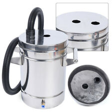 8L Stainless Steel Fluidized powder bucket hopper for Powder Coating Machine top