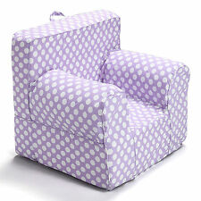 Insert For Pottery Barn Anywhere Chair With Purple Polka Dot Cover Small Size