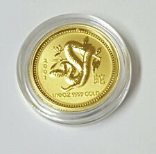 2001 Australia Lunar Year Of The Snake 1/10 Gold Coin