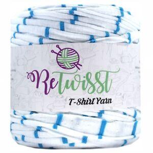 TY177 Retwisst T-shirt Fabric Yarn 120M Cotton Yarn Knitting Crochet Crocheting