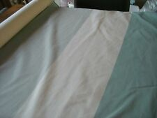 TAFFETAS RAYURES tissu-Bleu clair/crème-EX-John Lewis (vendu au mètre)