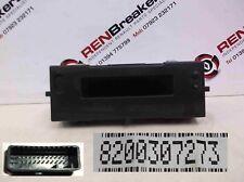Renault Clio MK3 2005-2012 Centre Clocks Dials Radio Display CD Player