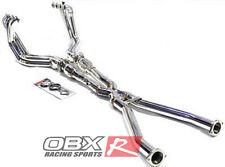 OBX Exhaust Header FITS 2001 02 03 2004 Chevy Corvette C5 5.7L V8 LS1 LS6 Z06