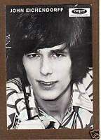 John EICHENDORFF - dt. Schlagersänger, Original-Autogramm, ca. 1970!