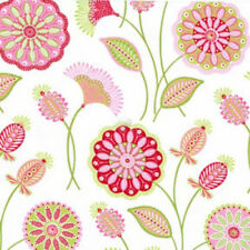 Gypsy Bandana Gypsy Flower White, Pillow/Maxfield, Michael Miller 1/2 yd fabric