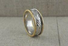 IRISH MADE 18K White Celtic Wedding Ring Size 11 SALE Made in Ireland by FADO